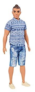 中古 販売期間 限定のお得なタイムセール 輸入品日本向け 格安店 Barbie Ken Fashionistas Denim Doll Broad Distressed