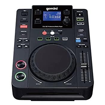 中古 輸入品日本向け GEMINI テーブルトップ 格安SALEスタート CD プレイヤー CDJ-300 再入荷 予約販売 MP3
