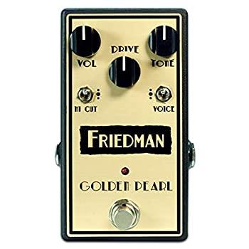 中古 輸入品日本向け Friedman GOLDEN-PEARL ギターエフェクター 内祝い 2020モデル