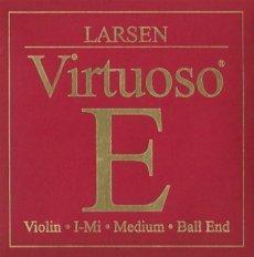 中古 輸入品日本向け LARSEN Virtuoso ラーセン モデル着用 注目アイテム ヴィルトゥオーソ Medium Seasonal Wrap入荷 バイオリン弦 ミディアムゲージ ボールエンド 1E