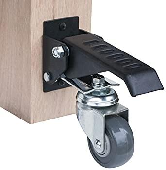 中古 今季も再入荷 輸入品 未使用 新作通販 POWERTEC ワークベンチ 4個パック 17000 キャスターキット