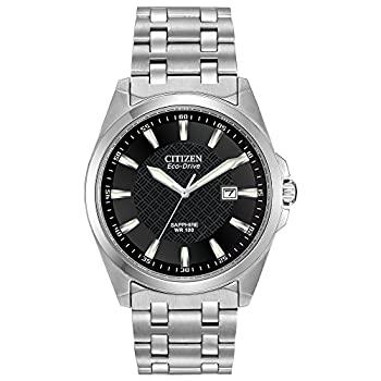 中古 完売 輸入品 未使用 Citizen Men's Eco-Drive Stainless Dress Steel with Watch 新色追加して再販 Date BM7100-59E