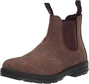 期間限定で特別価格 中古 輸入品 未使用 送料無料お手入れ要らず Skechers Men's Molton-GAVERO 10.5 Boot Brown US Chelsea Medium
