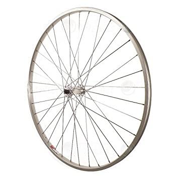 中古 輸入品 未使用 Sta-Tru Silver Alloy Wheel 完売 Front 1 4-Inch 受賞店 27X1 Hub