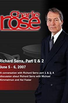 中古 輸入品 未使用 Charlie Rose - The Complete Richard 5 Set Serra Disc Conversation 使い勝手の良い 6 2 ※アウトレット品 June 2007