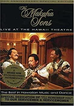 中古 輸入品 誕生日/お祝い 未使用 Makaha 卓越 Sons Live Hawaii Theater DVD at the