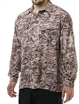 中古 輸入品 未使用 Aqua Design メンズ 祝日 XL パシフィックサンド ボタンダウン 注目ブランド UPF 迷彩カジュアルシャツ ショアライン