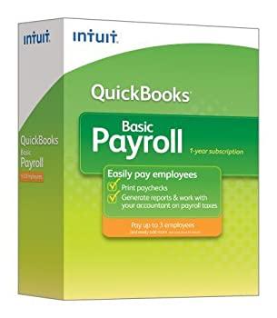 中古 輸入品 未使用 3ステップで簡単 QuickBooks Basic 2014 セットアップ Intuit社 人気ブランド多数対象 給与計算ソフト 並行輸入 Payroll
