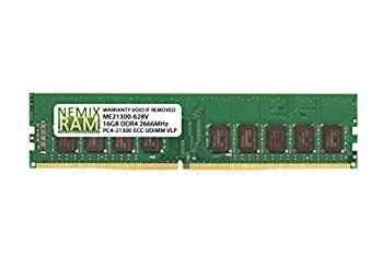 中古 輸入品 早割クーポン 未使用 NEMIX RAM 16GB DDR4-2666 UDIMM S1200SPL用 2Rx8 ECC 安心と信頼 Intel VLP