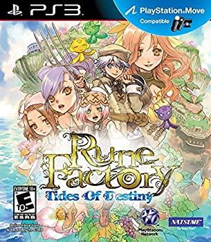 中古 輸入品 未使用 Rune Factory: 受注生産品 Tides 年末年始大決算 Destiny of 3 並行輸入品 - Playstation