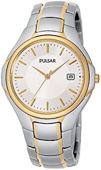 中古 輸入品 未使用 Pulsar Men 実物 's 通販 Tone Two Sport Dial pxe124 Silver