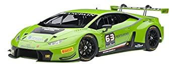 中古 輸入品 未使用 AUTOart 1 18 ウラカン 注目ブランド 新作からSALEアイテム等お得な商品満載 GT3#63 ランボルギーニ グリーン パール
