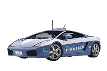 中古 輸入品 未使用 AUTOart 1 毎日続々入荷 18 ポリスカー 完成品 ランボルギーニ 保証 ガヤルド イタリア警察