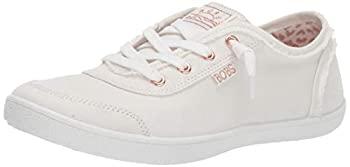 中古 輸入品 未使用 お気にいる Skechers BOBS Women's Bobs Cute Sneaker M 送料無料 9 US White B