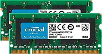 中古 輸入品 未使用 百貨店 Crucial Technology 4GB キット PC2-6400 1520システム用アップグレード 格安 価格でご提供いたします 非ECC Inspiron Dell 2GBx2 DDR2