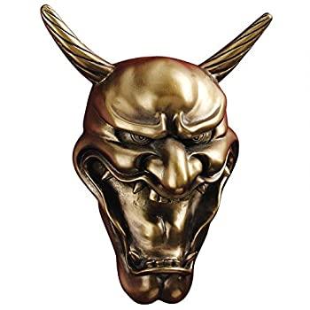 中古 輸入品 未使用 新作 Royal - Design Toscano Hannya Wall 正規品 Mask Demon CL6298 Sculpture Kagura