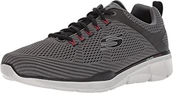 中古 輸入品 未使用 Skechers 定番から日本未入荷 Men's Equalizer 3.0 Oxford 11.5 Charcoal US Black ブランド品 4E
