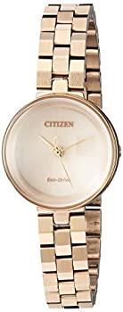中古 輸入品 未使用 シチズン Citizen 腕時計 直営店 男女兼用 Women's 'Eco-Drive' Quartz Color:Rose Stainless Gold-Toned EW5503-83X Steel Watch 日本製クォーツ Casual レデ