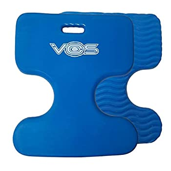 中古 輸入品 未使用 Vos Oasis 倉庫 プレミアム ウォーターサドル 海外限定 ブルー VOS ウォーターフロートサドル 2パック レイクサマー トイ フローティングプール