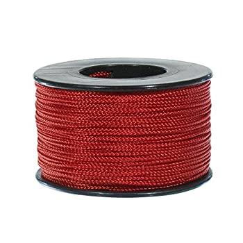 スーパーセール期間限定 中古 輸入品 チープ 未使用 PARACORD PLANET レッド ナノコード 300フィート X 0.75mm