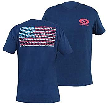 中古 推奨 ストア 輸入品 未使用 フライングフィッシャーマンフィッシュフラッグTシャツ ネイビー L