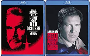メーカー再生品 中古 輸入品 未使用 Clear and Present Danger Red Hunt 完全送料無料 The October Blu-ray for