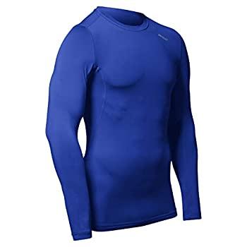 中古 日本未発売 輸入品 未使用 CHAMPRO スポーツ 卓抜 長袖コンプレッションシャツ ドライギア ユース Youth Large