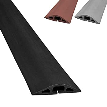 メーカー直送 中古 輸入品 未使用 D-2 新商品 ゴム製ダクトコードカバー Feet D-2-36-BK 3