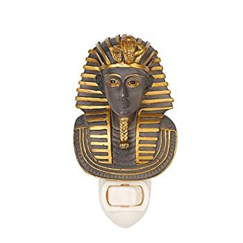 新作からSALEアイテム等お得な商品満載 中古 輸入品 未使用 古代エジプトKing 70%OFFアウトレット Tut装飾壁ナイトライト