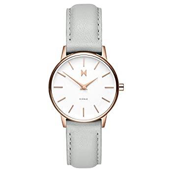 中古 輸入品 未使用 MVMT 腕時計 adult 格安 価格でご提供いたします レディース薄型ミニマリスト 返品交換不可 ホワイトグレー
