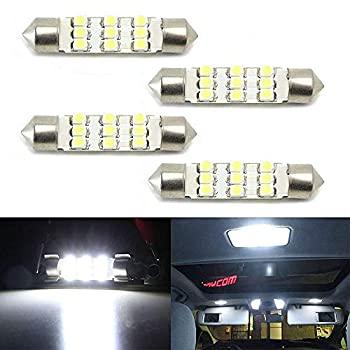 中古 輸入品 未使用 iJDMTOY キセノンホワイト 9-SMD-1210 1.72 42mm お求めやすく価格改定 カーゴエリアトランクルーム ストアー 211-2 214-2 212-2 LED電球 578 車のインテリアドームライト 576
