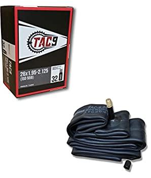 中古 輸入品 未使用 TAC 新作アイテム毎日更新 9 チューブ 26 レギュラー シュレーダーバルブ x 32mm リムストリップとタイヤレバー付きバンドルオプションあり - 1.95-2.125 新作入荷!!