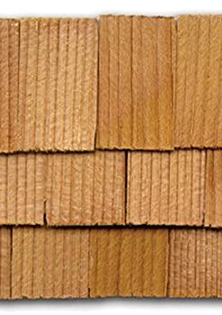 中古 輸入品 未使用 Dollhouse Miniature 爆安 1000 Rectangle Piece Shingles 販売期間 限定のお得なタイムセール Cedar