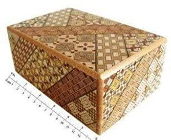 中古 輸入品 送料無料限定セール中 未使用 Yosegi Puzzle sun 新品 10 Box 5 steps