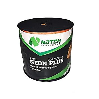 中古 輸入品 未使用 Notch 2020春夏新作 Neon スローライン - Plus 通販 200フィート 3mm