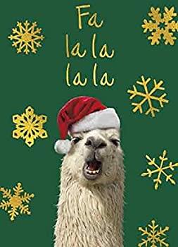 中古 輸入品 未使用 Avanti 10枚入り Fa 低価格 限定特価 クリスマスカード La Llama 封筒付き