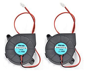 中古 輸入品 未使用 RION TECH 2個 高品質 クーリングブロワーファン アロマセラピーやその他の小型家電シリーズ修理用 50x50x15mm 3Dプリンター加湿器 ファン 12V 5015 ☆送料無料☆ 当日発送可能 DC