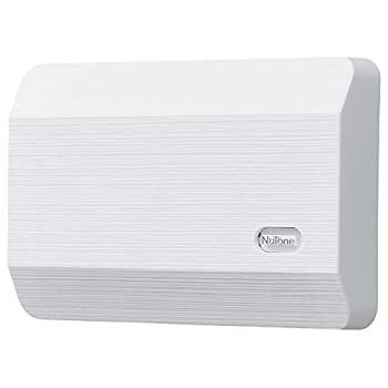 中古 輸入品 新品未使用正規品 未使用 NuTone LA11WH Decorative Wired Two-Note Textured 新発売 White 並行輸入品 Broan Chime Finish Door by