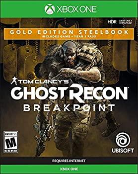 中古 輸入品 未使用 Tom 贈物 Clancy's ショッピング Ghost Recon Steelbook - Breakpoint: 輸入版:北米 Gold Edition XboxOne