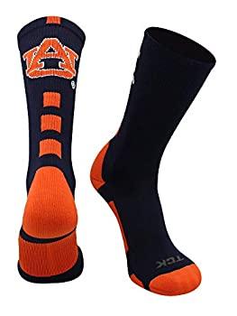 中古 輸入品 未使用 全品最安値に挑戦 Small Navy Orange 現品 - Auburn Tigers Socks Crew Baseline TCK