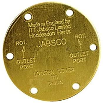 中古 輸入品 定価 激安超特価 未使用 Jabsco 11831???0000エンドカバー