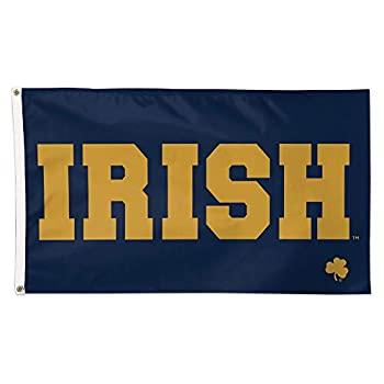 中古 国産品 新色 輸入品 未使用 Notre Dameアイルランド国旗3?x Navy 5?Deluxe Irish Fighting Licensed