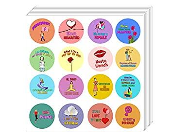 中古 輸入品 未使用 フェミニストガール 国内正規品 10-sheets ステッカー パワーキット 10枚 数量限定
