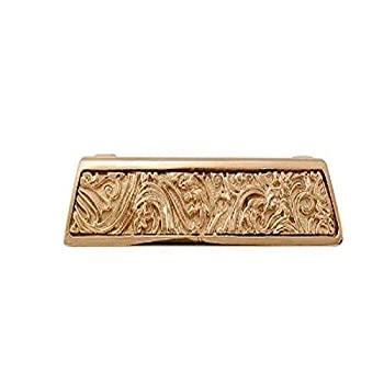 中古 輸入品 未使用 Vicenza Designs 70%OFFアウトレット ポリッシュゴールド Leaves指抜き p1251?Liscio お洒落
