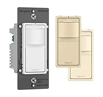 中古 手数料無料 輸入品 未使用 Legrand ラジアントモーションセンサーライトスイッチ 自動オンとオフに 世界の人気ブランド RRW600UTCCCV4 オキュパニーセンサー 屋内または屋外用