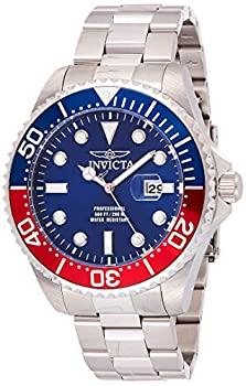 中古 輸入品 未使用 Invicta 春の新作続々 Men 's ' Pro QuartzステンレススチールDiving 22823? Diver モデル: silver-toned : Watch セール 特集 Color