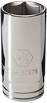 中古 輸入品 未使用 GEARWRENCH 6角ディープソケット 定番の人気シリーズPOINT ポイント 入荷 選択 1 2DR 8inch 1-1 80676