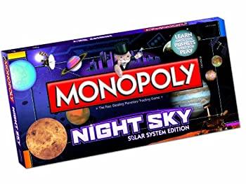 中古 ご注文で当日配送 輸入品 未使用未開封 USAopoly Night Sky 期間限定特価品 Monopoly