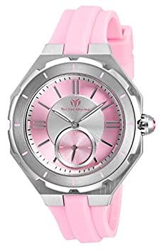 新入荷 流行 中古 市販 輸入品 未使用未開封 Technomarine Women's TM-118003 Quartz Pink Hand 3 Watch Dial