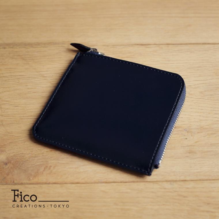 【Fico】 フィーコ BLU ブル メンズ 財布 ZIPパース コードバン フラグメントケース
